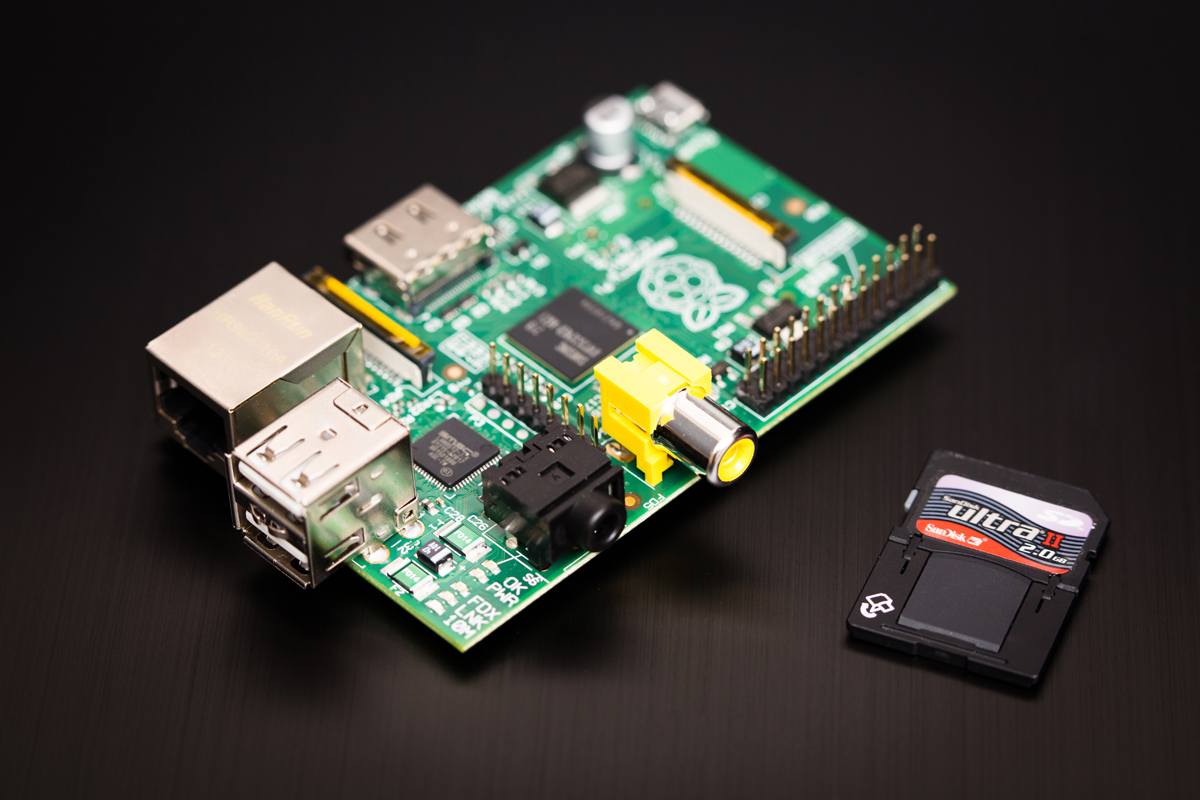 The Raspberry Pi computer