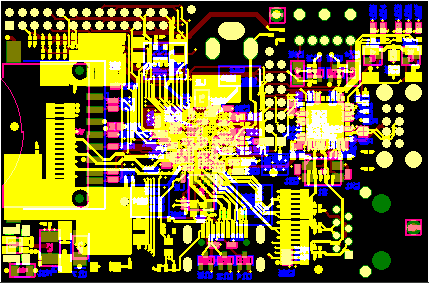 Final PCB artwork - Raspberry Pi