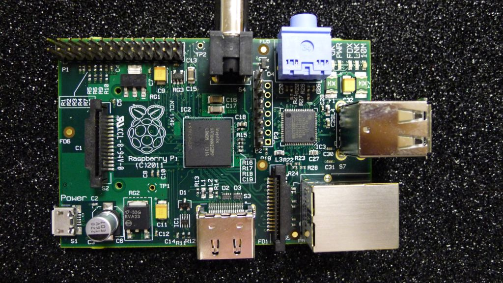 Top down Raspberry Pi