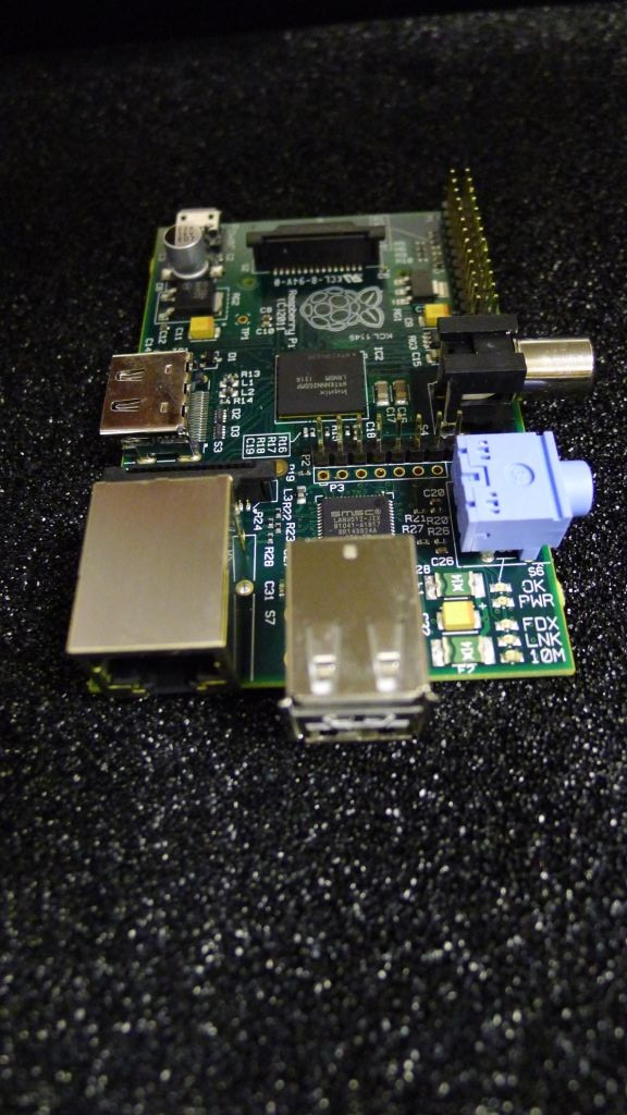 Same Raspberry Pi, other end