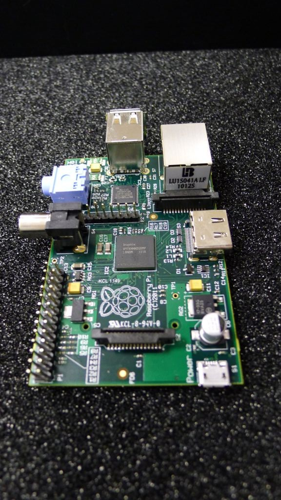 Raspberry Pi number one