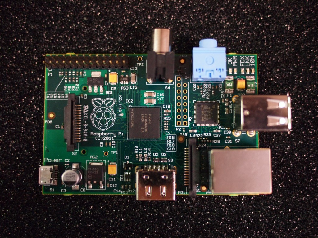 Raspberry Pi beta board