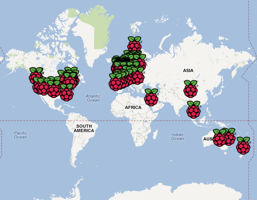 Add your Raspberry Pi to the Rastrack map - Raspberry Pi