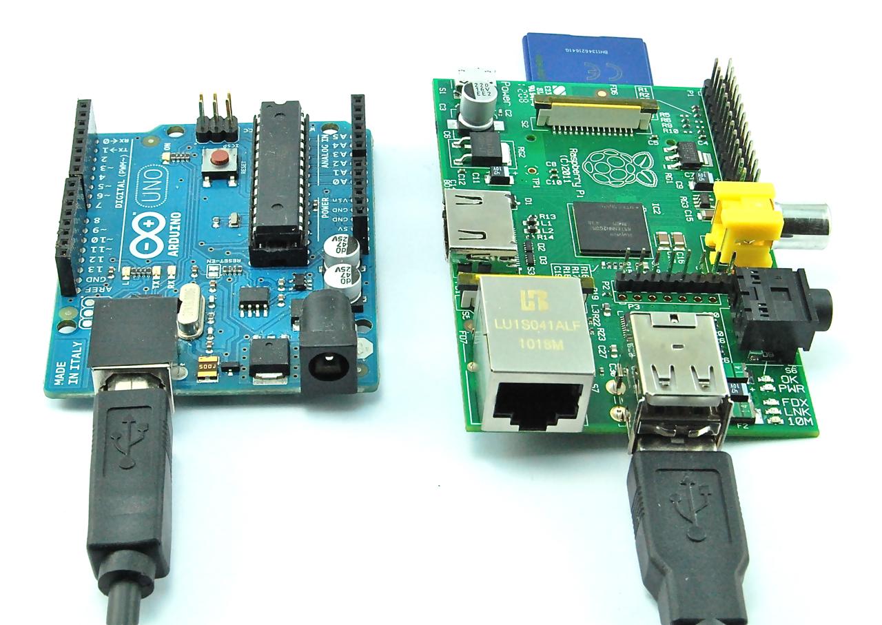 Raspberry Pi and Arduino - Raspberry Pi