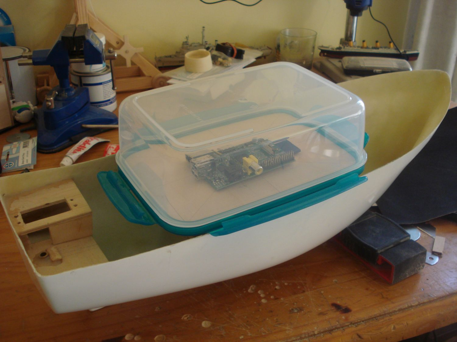 how to make a fish sonar with raspberry pi