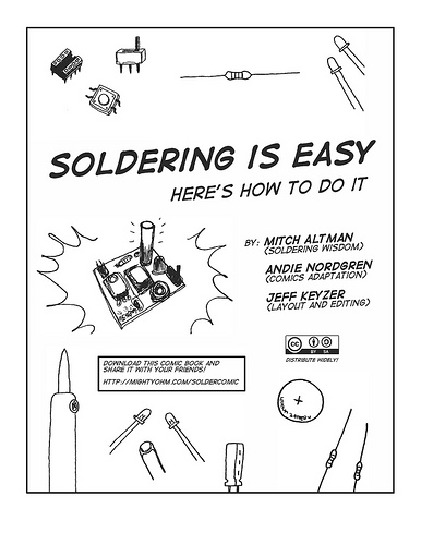 soldering is easy - comic