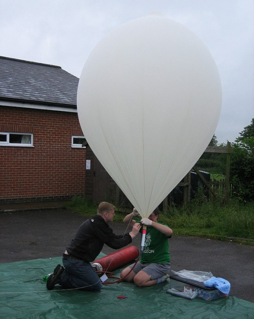 Raspberry Pi weather balloon: an earlier launch