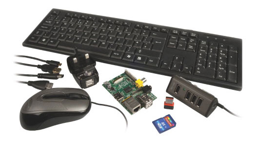 Maplin Raspberry Pi bundle