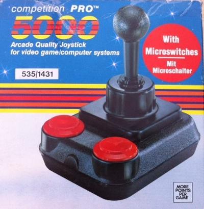 Retro games and a retro joystick - Raspberry Pi