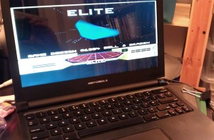 Elite running on Raspberry Pi