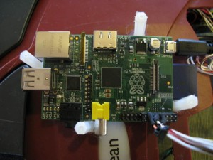 raspberry pi on a roomba