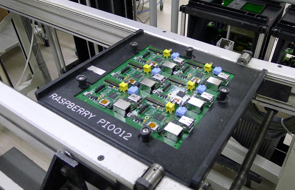 through soldering machine