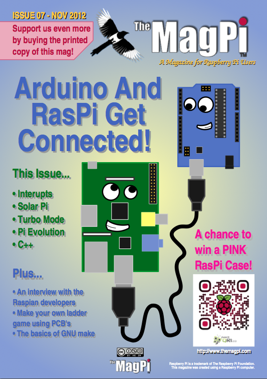 The MagPi, issue 7