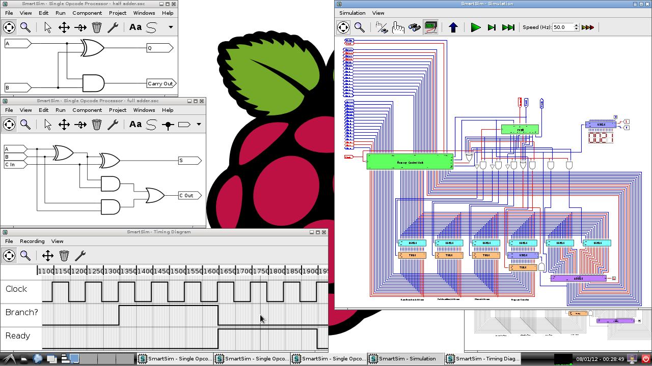 Summer Coding Contest Results Finally Raspberry Pi Electrical Circuit Simulator 2 Free Smartsim Screenshot