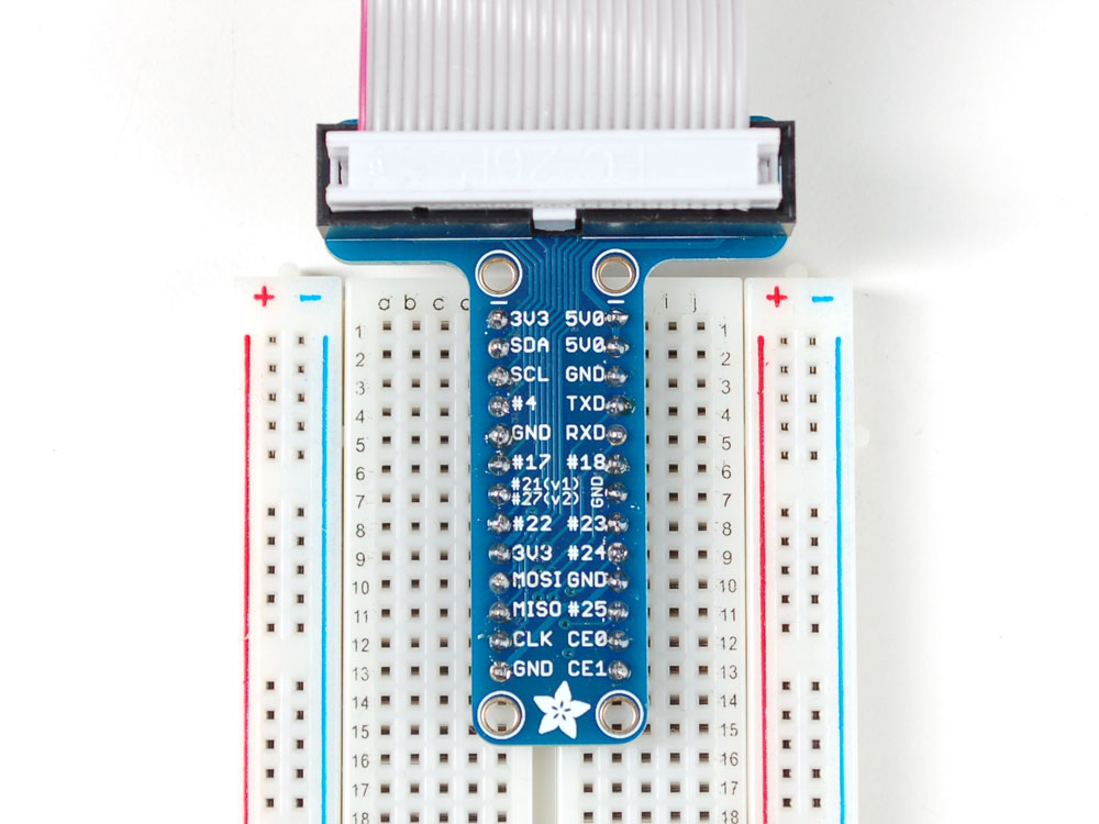 raspberry pi gpio breakout board for breadboard