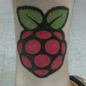 Raspberry Pi tattoo