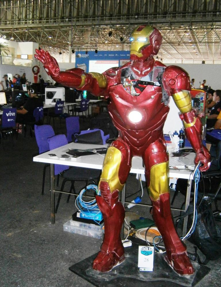 Check this out. Ironman