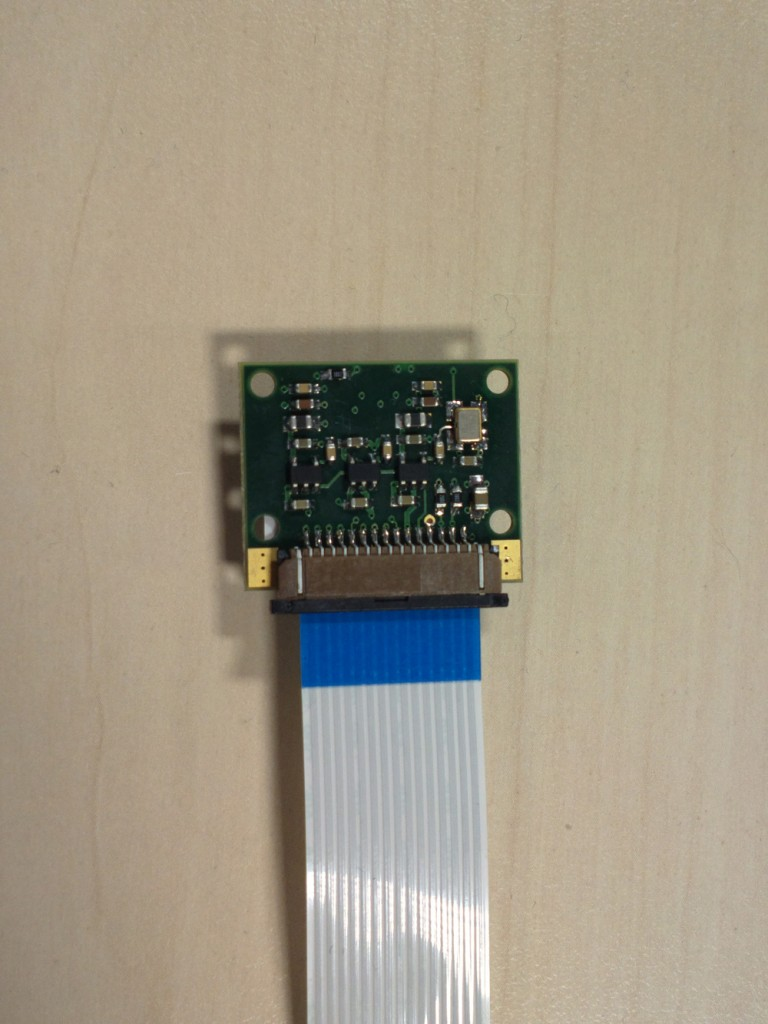 Raspberry Pi camera module, back