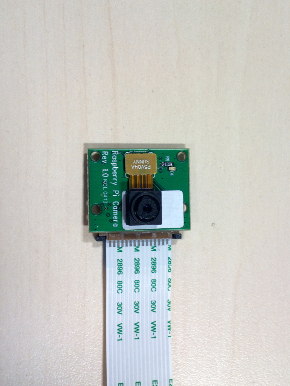 Raspberry Pi camera module sneak peek, and Model A unboxing
