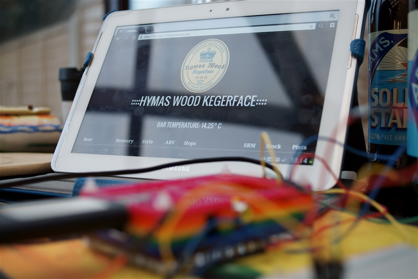 Kegerface - for all your beer stocking needs - Raspberry Pi