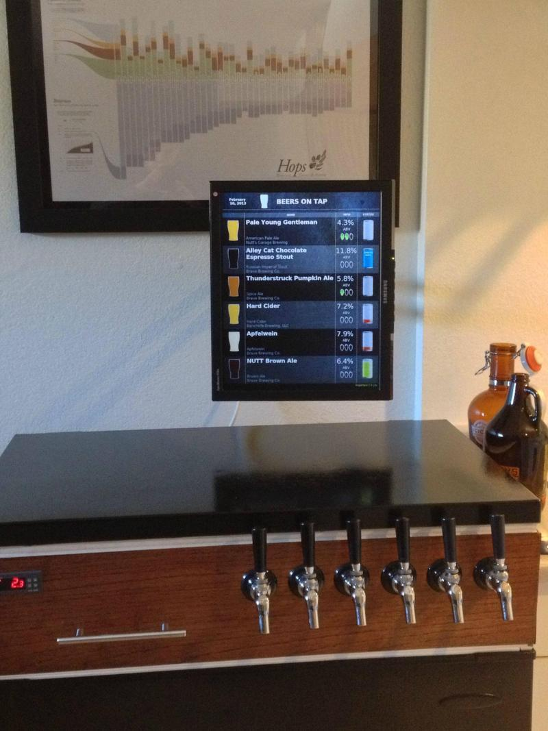 Kegerface For All Your Beer Stocking Needs Raspberry Pi