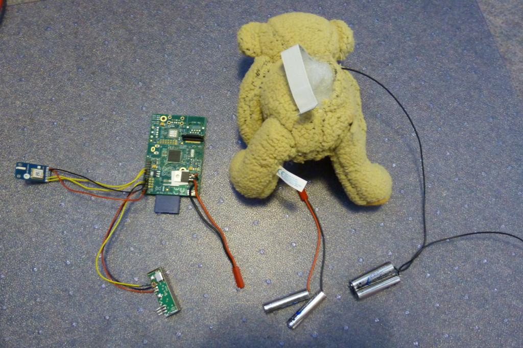 Baumgartner Beaten By a Teddy Bear and Raspberry Pi! • Geek