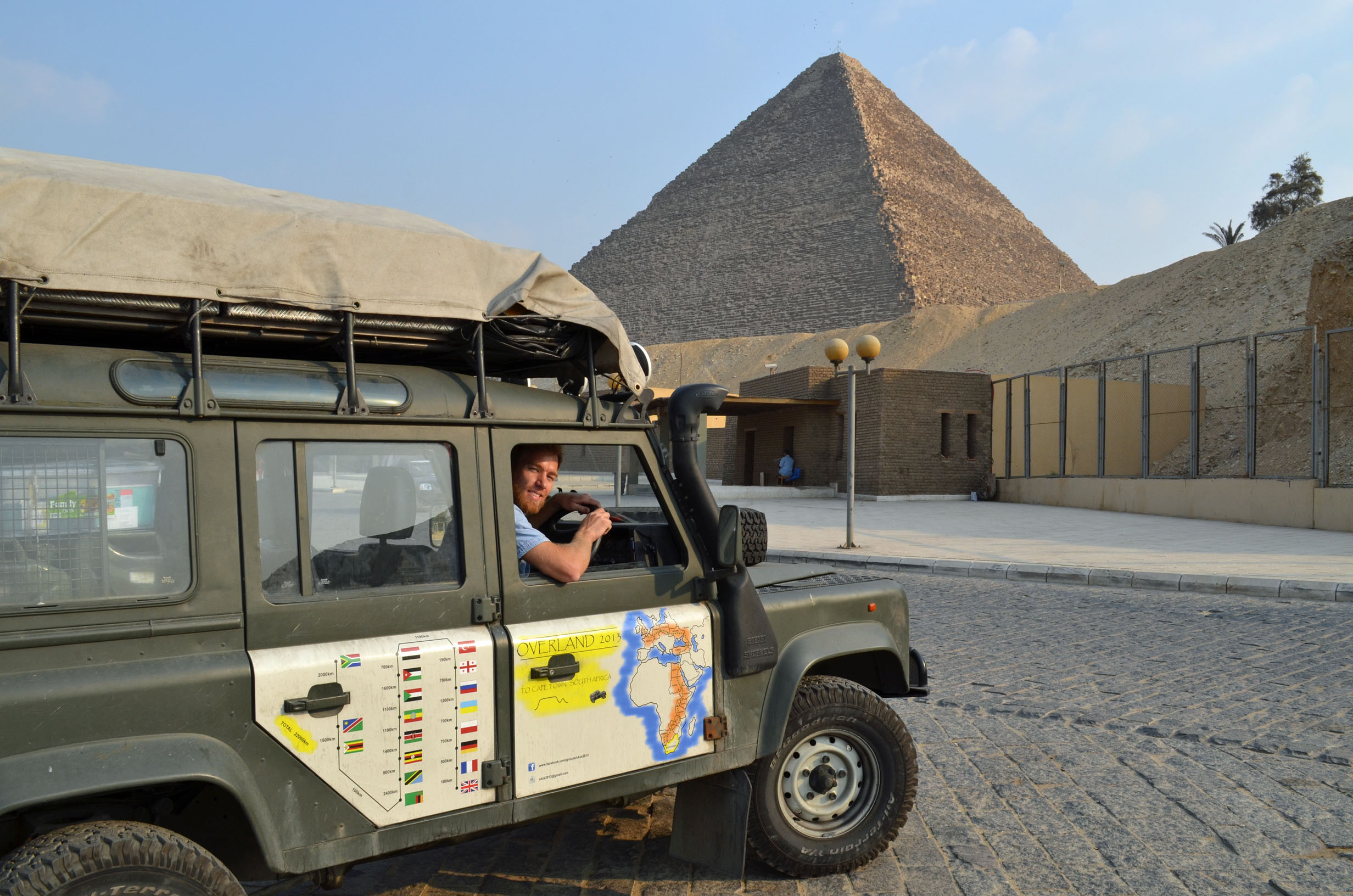 The Lotter brothers reach Cairo, first ARM/Raspberry Pi