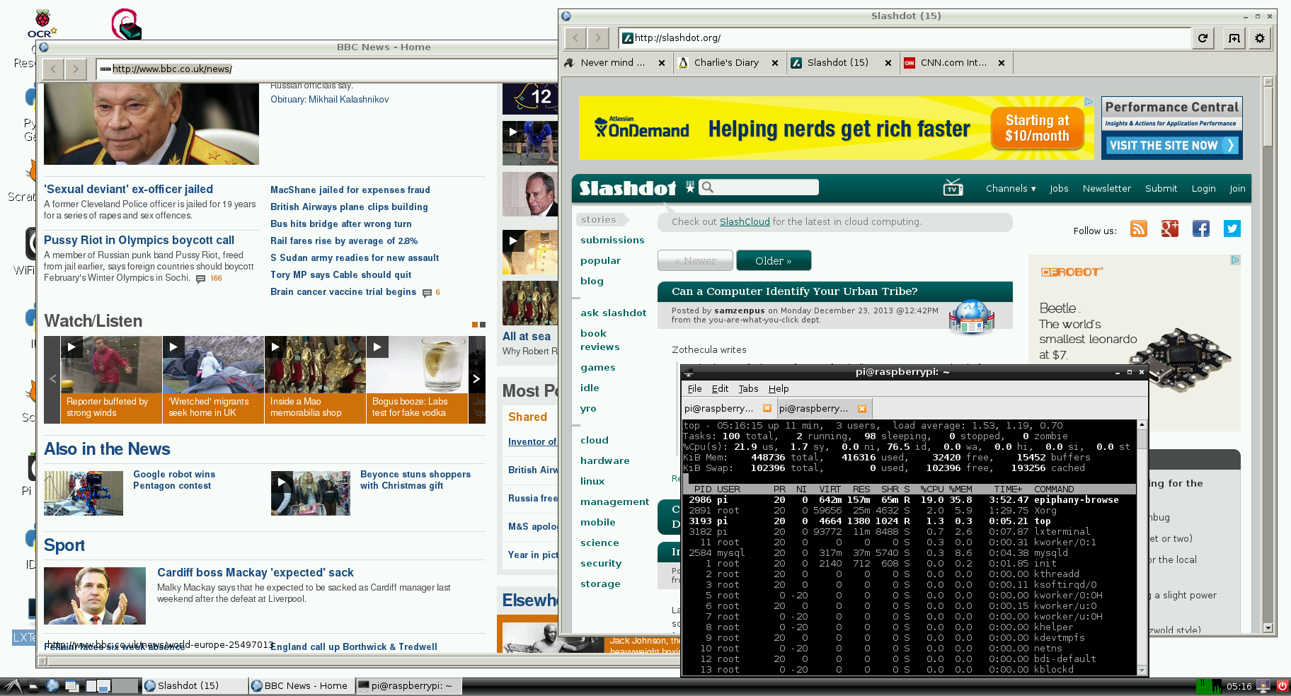 Web browser released! - Raspberry Pi