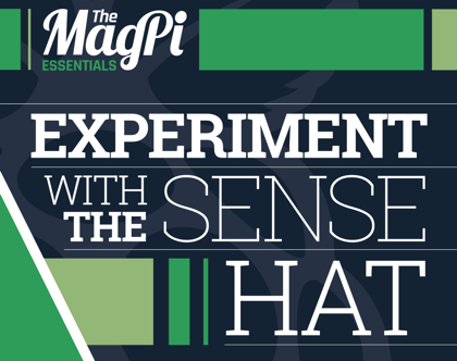 Cropped cover of Experiment with the Sense HAT book