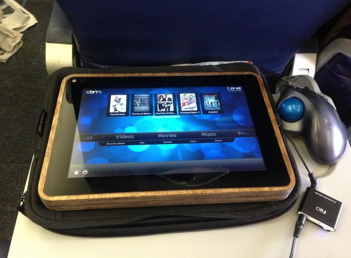 Wooden tablet: Michael Castor's PiPad