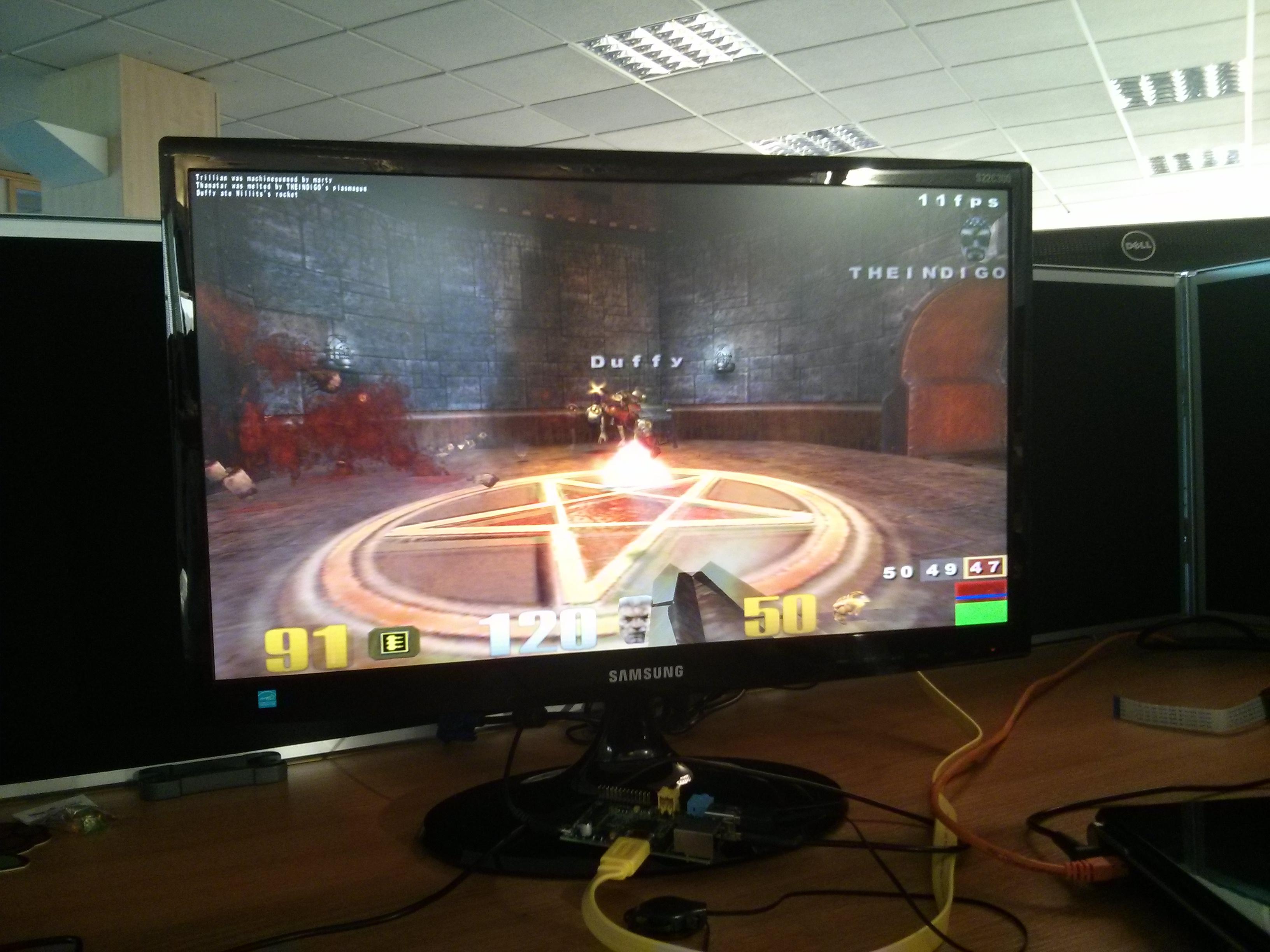 Quake III bounty: we have a winner! - Raspberry Pi