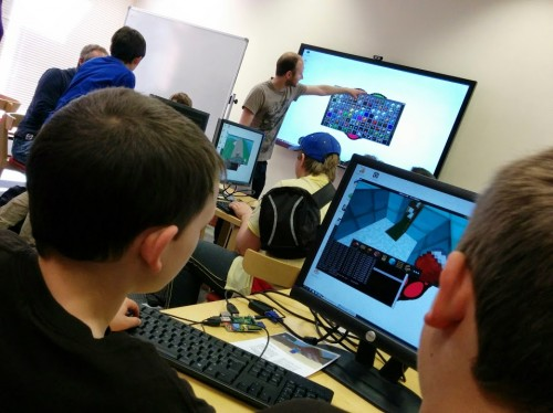 Craig Richardson Minecraft workshop