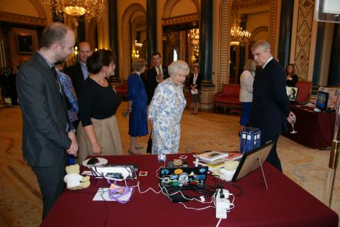 Buckingham Palace Raspberry Pi