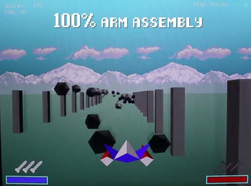 PiFox: bare-metal ARM assembly language Star Fox - Raspberry Pi