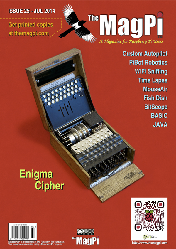 The MagPi issue25