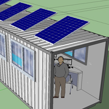 Solar-powered learning