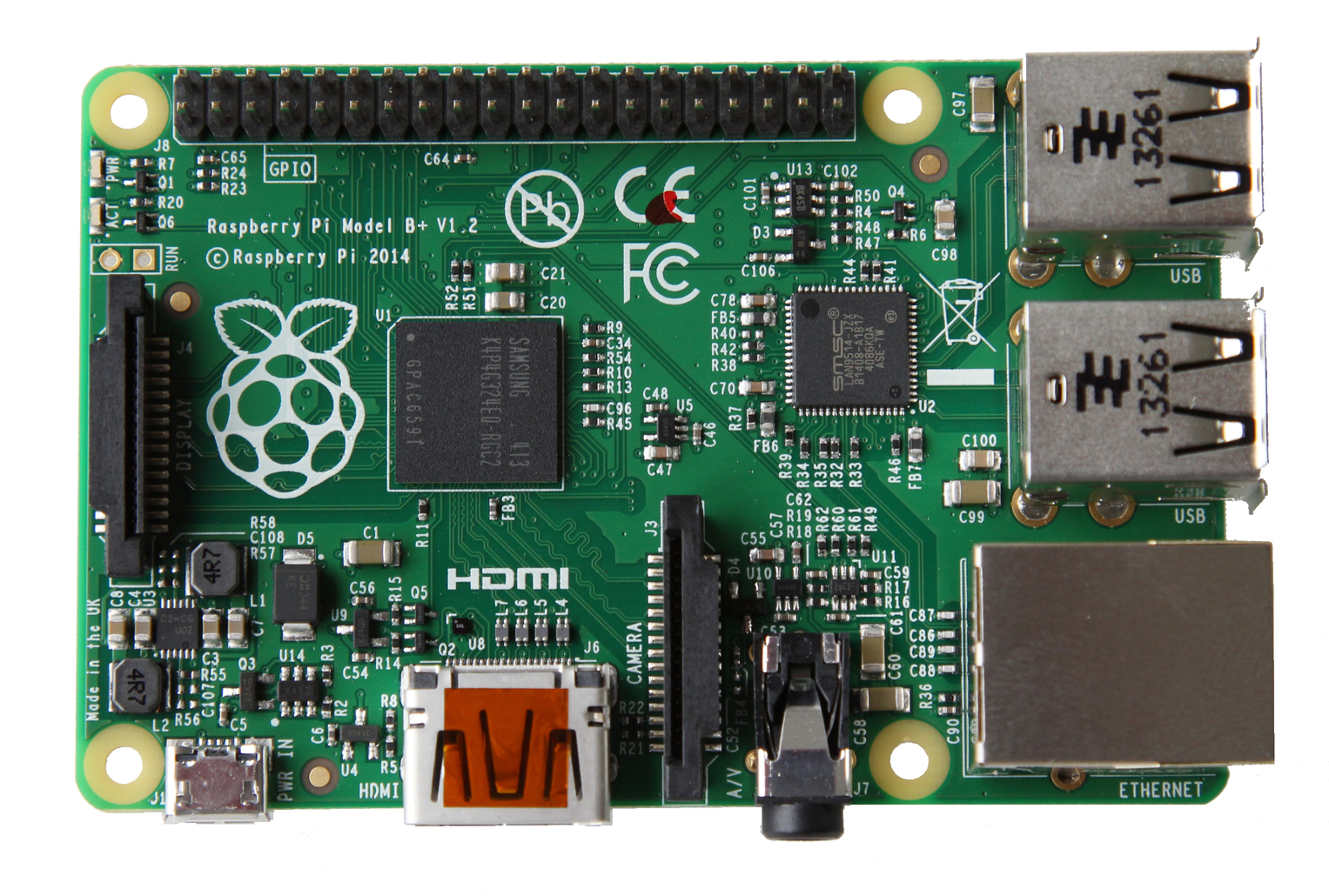 Introducing Raspberry Pi Model B+ - Raspberry Pi