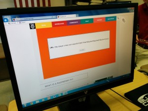 This is what the Raspberry Pi website looks like in the school, as Vimeo is blocked