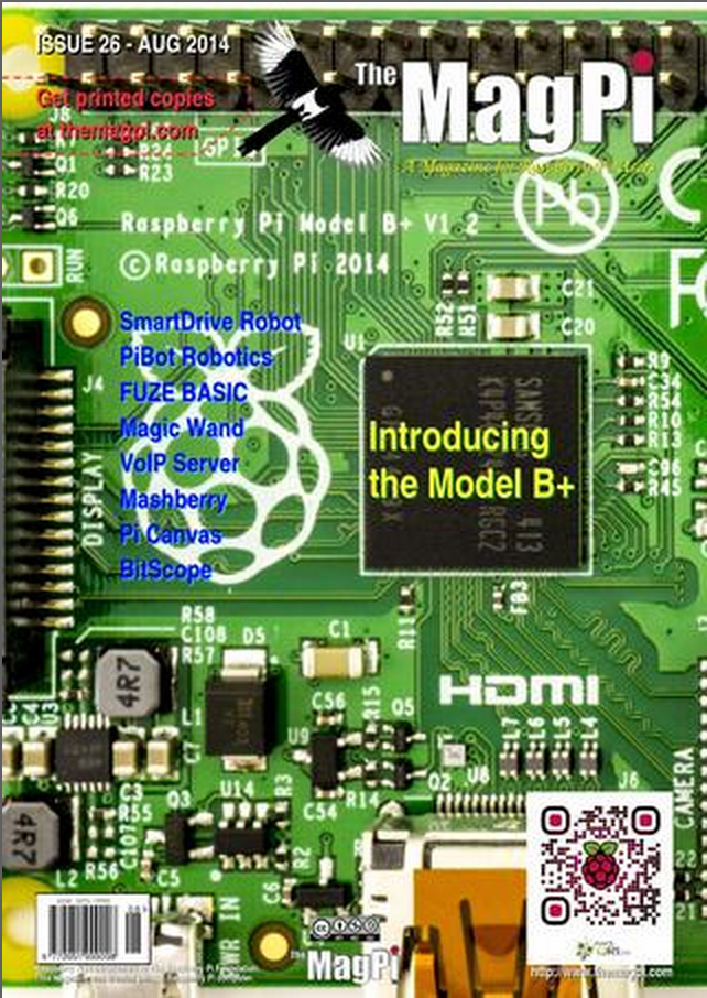 MagPi issue 26