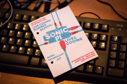 Sonic Pi: Live & Coding summer school