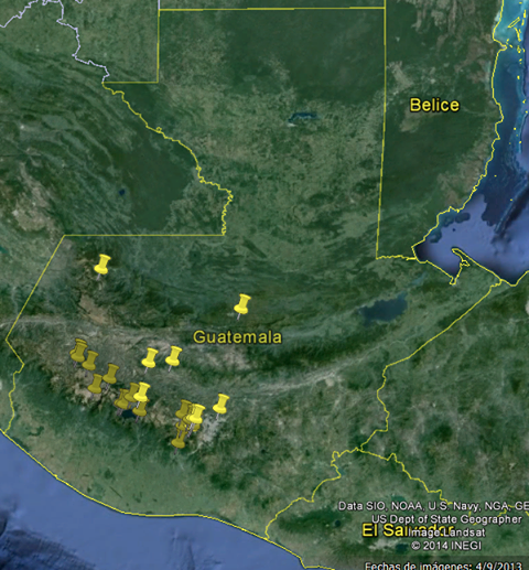 Current RACHEL-Pi installations in Guatemala
