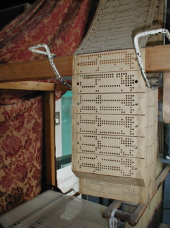 Jacquard loom and cards