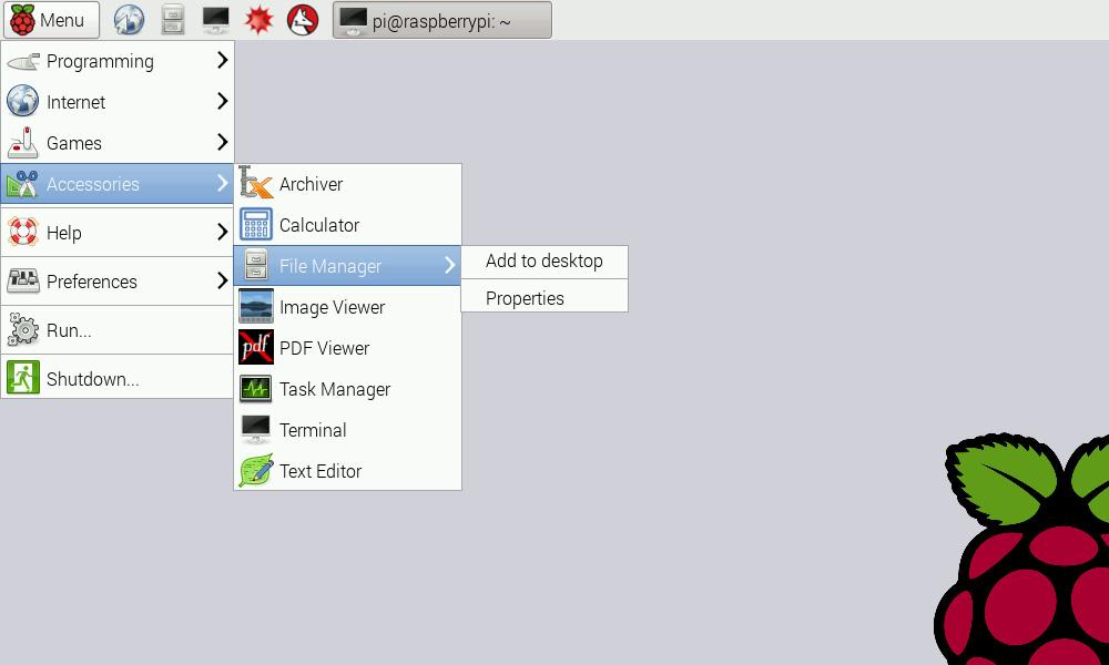 Changes to the Raspbian user interface - Raspberry Pi