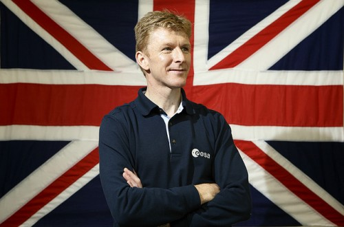 Major Tim Peake - photo provided by UK Space Agency under CC BY-ND
