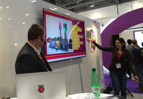 Raspberry Pi Certified Educators Cat Lamin and Tom Sale show how easy it is to use Pis in Primary Schools