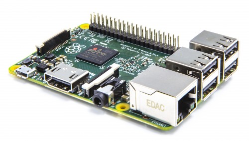Raspberry Pi 2 with faster processor and more memory