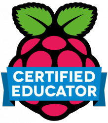 Some sessions will be lead by our Raspberry Pi Certified Educators.