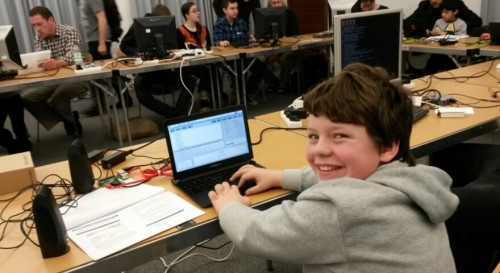 Experimenting with Sonic Pi in the beginners' workshop