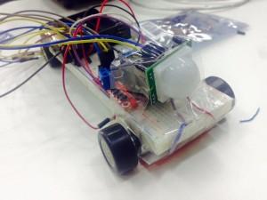 Breadboard robot