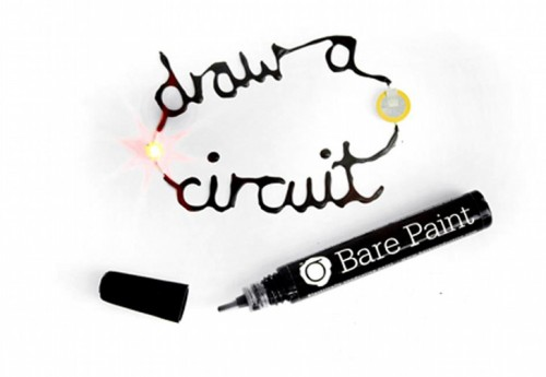 Bare Conductive is an conductive paint